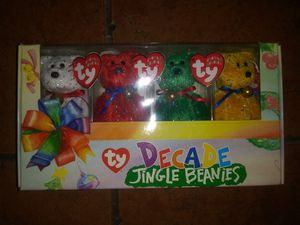 Unopened collectible Ty decade jingle Beanie Babies for Sale in Hawthorne, CA