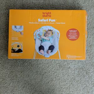 Bright Starts Vibrating Baby Bouncer for Sale in Bellevue, WA