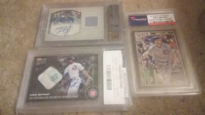 Kris Bryant authentic cards for Sale in Durham, NC