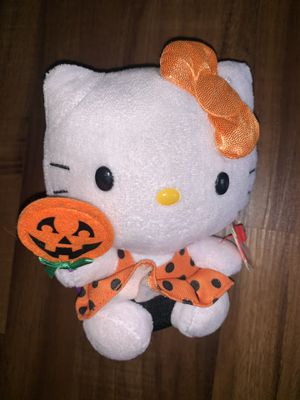 Vintage Hello kitty collectibles toy beanie baby for Sale in Maywood, CA