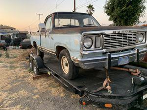 1978 Dodge D100 318 V8 Short Bed for Sale in Los Angeles, CA