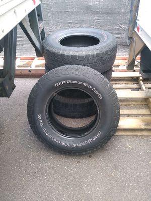 4 BF Goodrich tires P265/70R16 for Sale in Denver, CO