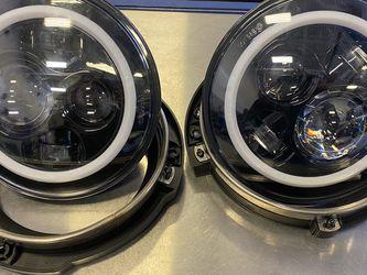 Jeep Wrangler Led Headlamps for Sale in Virginia Beach,  VA