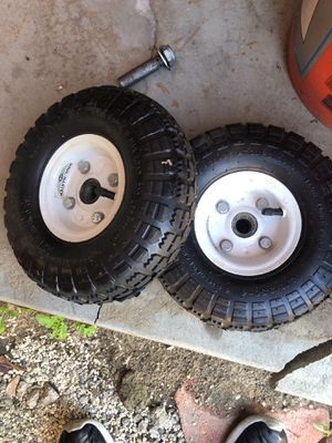 Dolly cart wheels tires for Sale in Anaheim, CA