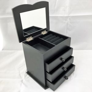 "6.5"" Jewerly Box Mirror BLACK for Sale in Norco, CA"