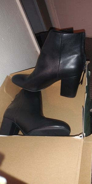 New black boot booties size 10 for Sale in Lincoln Acres, CA