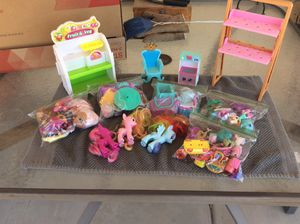 Shopkins, My little Pony + Accessories for Sale in El Mirage, AZ
