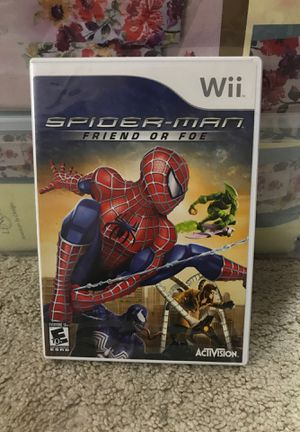 Spider-Man friend or for game for Sale in Chantilly, VA