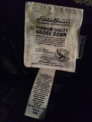 Eddie bourer goose down parka for Sale in Las Vegas, NV
