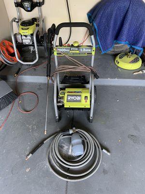 RYOBI electric pressure washer and accessories. for Sale in San Antonio, TX