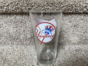 MLB New York Yankees Collectible Beer Glass for Sale in Greensboro, NC