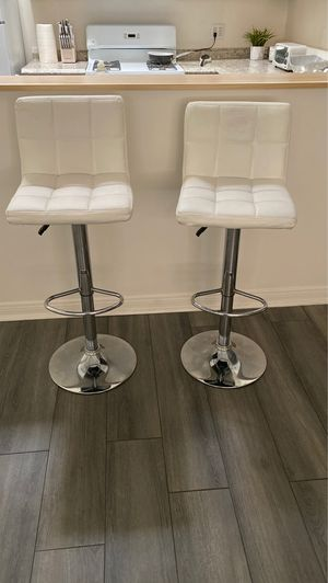 White stools for Sale in Riverside, CA
