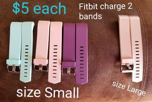 Fitbit charge 2 bands for Sale in Ogden, UT