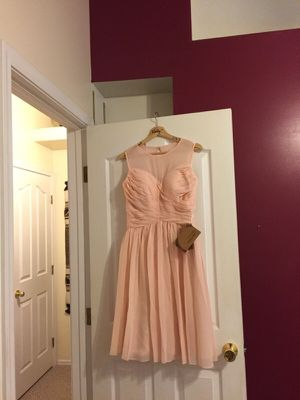 Rose bridesmaid dress size 8 for Sale in Chandler, AZ