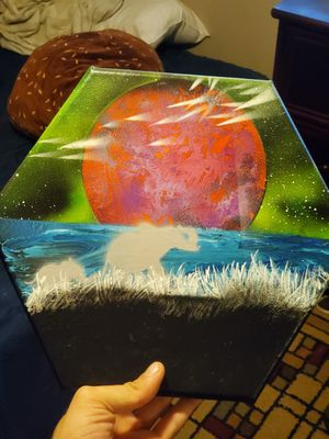 Spray paint canvases for Sale in Clayton, CA