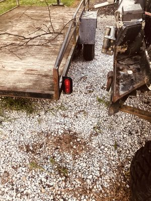 Homemade utility trailer(no trades) for Sale in Fairlawn, OH