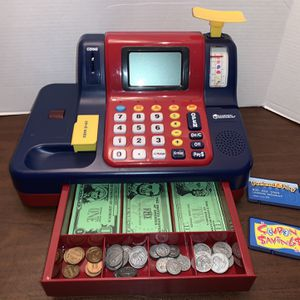 Learning Resources Pretend & Play® Teaching Cash Register Kids Girls Boys Educational School Toy for Sale in San Diego, CA