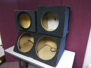 (3) Subwoofer Boxes for Sale in Columbus, OH