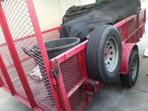 210 traila roja 15x7 for Sale in Mesa, AZ