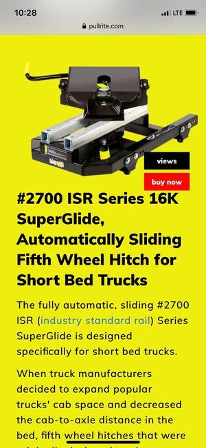 PulRite 2700 Automatic Slider Hitch for Sale in El Cajon, CA