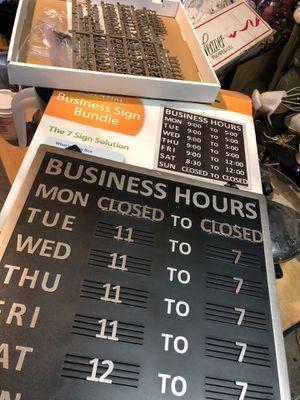 Business hours sign 12.00 for Sale in Virginia Beach, VA