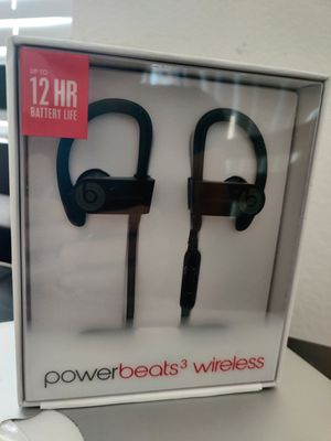 Powerbeats 3 Black, Apple Warranty April 2021 for Sale in Irvine, CA
