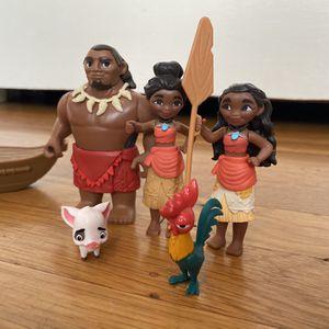 Moana Figurine Set for Sale in Richmond, CA