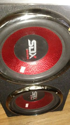 Speakers radio amplifier and wires for Sale in Chicago, IL
