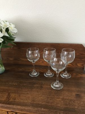 "4"" ""Pier 1"" wine glasses for Sale in Homer, NE"