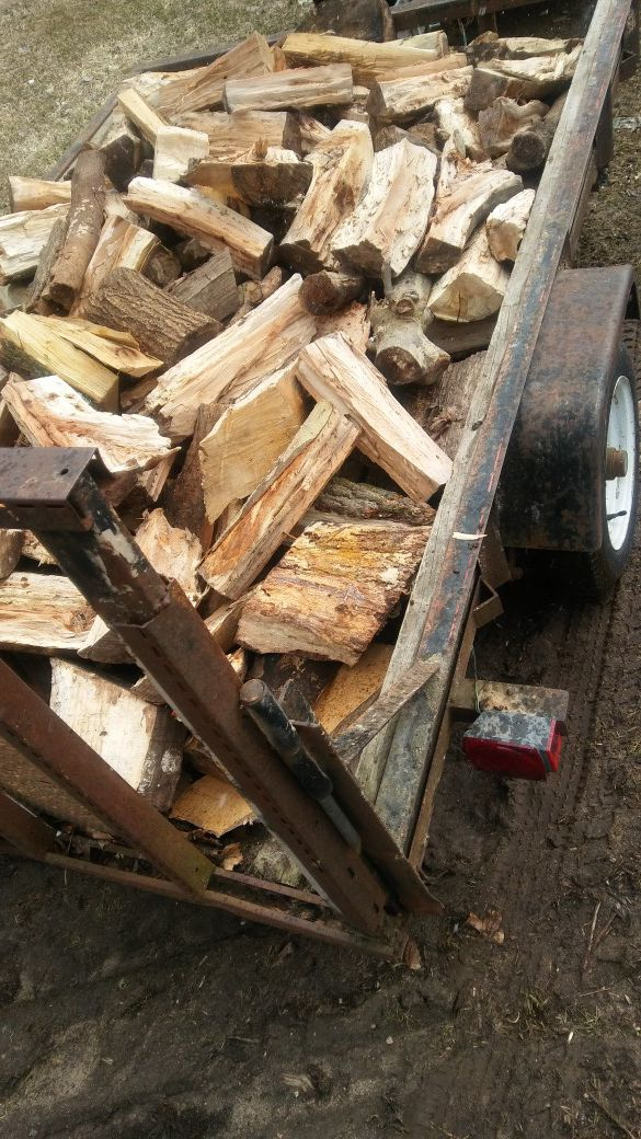 DECATUR, MICHIGAN - FIREWOOD - camping / bonfires / heating / cooking wood for bbq's & smokers