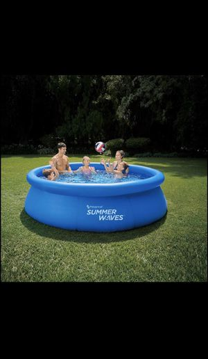 Summer Waves Quick Set Pool Inflatable for Sale in Lorton, VA
