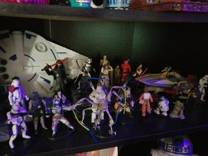 Star wars action figures!! for Sale in Kissimmee, FL