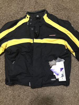 Motorcycle jacket and helmet and life jacket for Sale in Fresno, CA