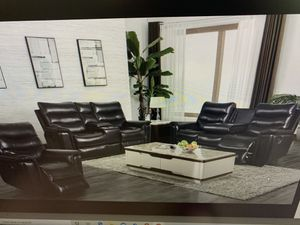 Reclining Sofa and Reclining love seat in Sale( add recliner for $199) ON SALE for Sale in Federal Way, WA