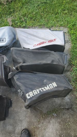 Lawn mower bags. $5 each or make offer for all. for Sale in Trinity, FL