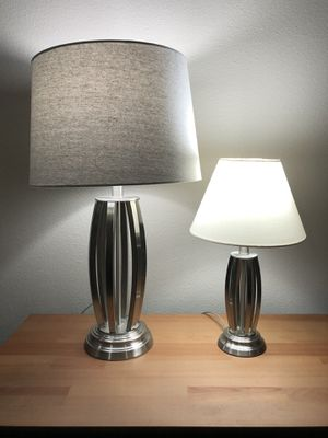 2 metal based lamps for Sale in Arvada, CO