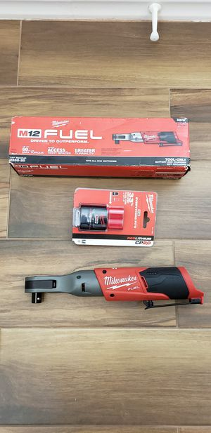 Milwaukee 1/2in fuel ratchet kit for Sale in San Diego, CA