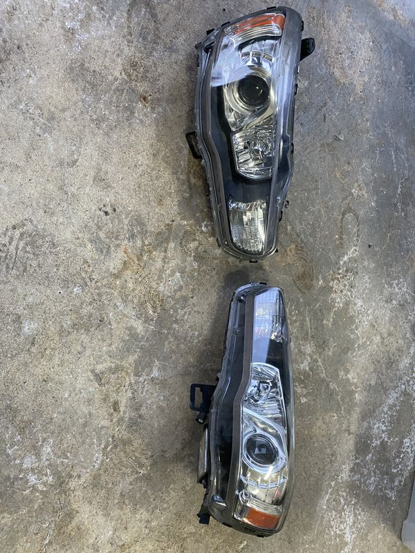 OEM Evo x headlights