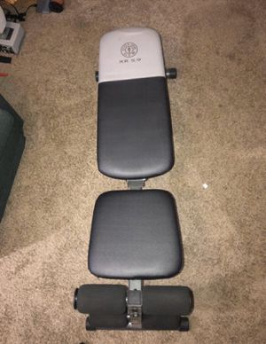 WEIGHT BENCH - Golds gym XR 5.9 for Sale in Denver, CO