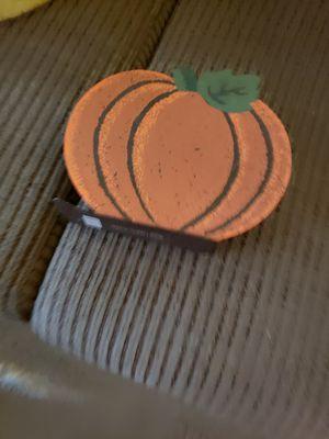 Pumpkin napkin holder for Sale in Little Chute, WI