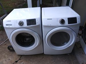 Samsung Dryer And Washer Set for Sale in Riverdale, GA