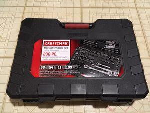 Craftsman Mechanics Tool Set, 230 pieces - Brand New for Sale in Falls Church, VA