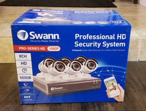 Swann 8 Channel Security System (BRAND NEW) for Sale in Modesto, CA