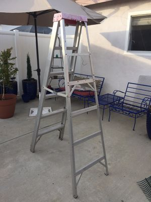 ALUMINUM LADDER, Excellent condition for Sale in Upland, CA