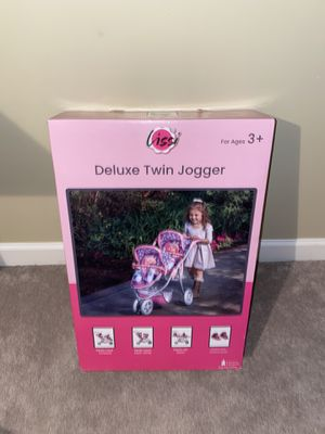 Deluxe Twin Doll Jogger for Sale in Erie, PA