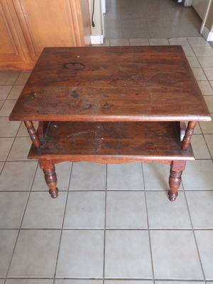 Wood stand for Sale in Highland, CA