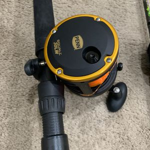 """Deep Sea Fishing Rod 6'6"""" PENN SQUALL for Sale in Columbia, MD"""