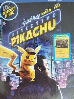 Pikachu Blu-ray 2 Disc DVD Set for Sale in Portland,  OR