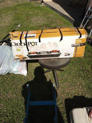 Crock-Pot trio for Sale in Houston, TX