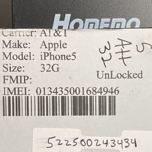 Unlocked iPhone 5 32gb Fully Functional Celular for Sale in Miami, FL